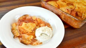Fresh Peach Cobbler Recipe How To Make Peach Cobbler With Fresh Peaches 1017357 By Cookingwithcarolyn