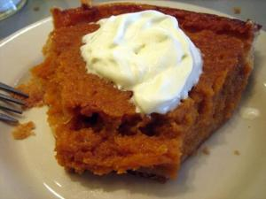 Sweet Potato Molasses Pie
