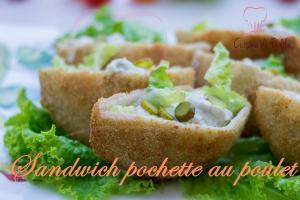 Sandwich Pochette Au Poulet 1017757 By Cuisinedefadila