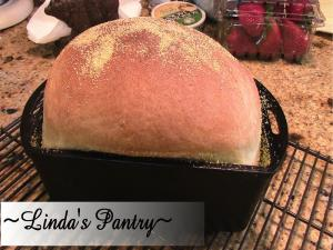 Lodge Cast Iron Loaf Pan Review With Lindas Pantry