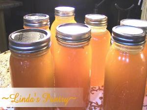 Home Canning Homemade Turkey Stock