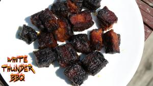 Pork Belly Burnt Ends On The Grillaque 1016369 By Whitethunderbbq