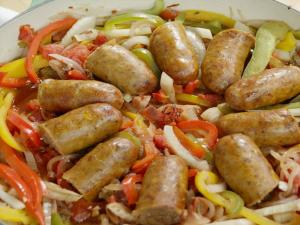 Sausage And Peppers One Pot Recipe