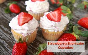 Easy Strawberry Shortcake Cupcakes Recipe 1015563 By Divascancook