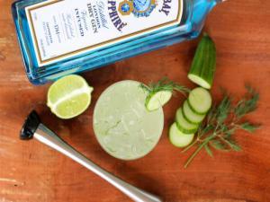 Cucumber Dill Gin