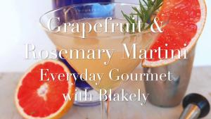 Cocktail Recipe Grapefruit And Rosemary Martini 1019825 By C 4 Bimbos