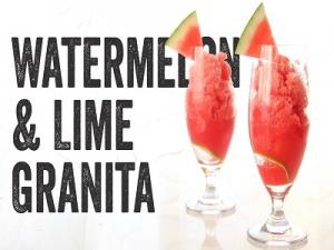 Watermelon And Lime Granita Recipe