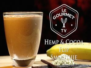 Cocoa Flip Smoothie Recipe