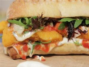 Fancy Fish Finger Sandwich