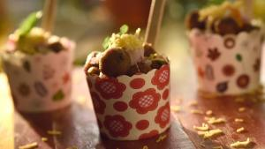 Tikki Chaat Cups Recipe How To Make Tikki Chaat 1019720 By Beingindiansawesomesauce