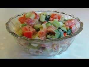 Bettys End Of Summer Vegetables With Cucumber Dressing 1018128 By Tarladalal