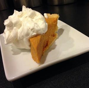 Pumpkin Chiffon Pie With Bourbon