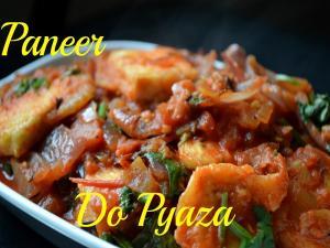Paneer Do Pyaza