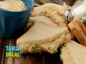 Vegetable Mayonnaise Sandwich