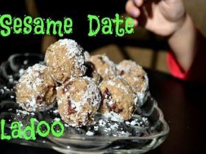 Sesame Date Ladoo