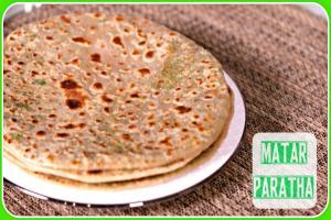 Matar Green Peas Paratha Easy Indian Breakfast Dinner Recipe 1018383 By Sruthiskitchen