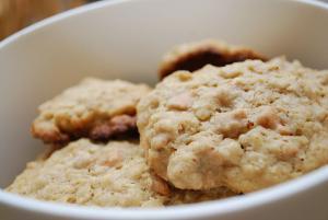 Peanut Oat Cookies