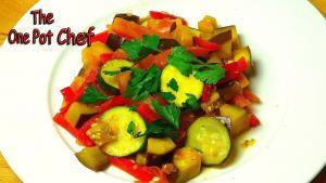Easy Ratatouille One Pot Chef