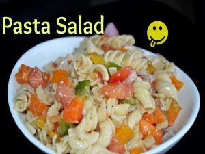 Healthy Cold Pasta Salad