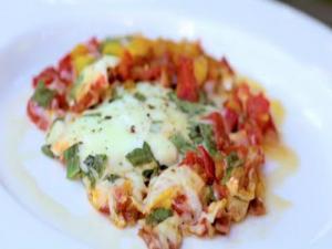 Tuscan Tomato Egg Skillet