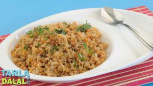 Soya Upma Iron Rich Recipe 1015919 By Tarladalal