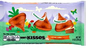 Hersheys Unveil Carrot Cake Flavored Kisses