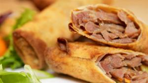 Duck Spring Roll Recipe 1006296 By Videojug