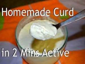 Homemade Curd