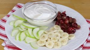 Sliced Fruit With Honeyvanilla Yogurt Dip 1018960 By Relish