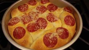 Pepperoni Cheesy Bread Sticks