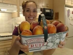 Ontario Freestone Peaches