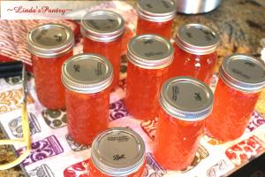 Canning Habanero Rhubarb Jelly With Lindas Pantry 1018641 By Lindaspantry