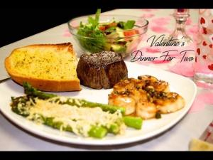 Valentines Dinner For Two Filet Mignon And Sea Scallops 1015016 By Smokyribs