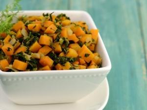 Carrot Methi Subzi Delicious Diabetic Recipe By Tarla Dalal