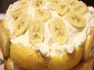 Twinkie Banana Cream Cheese Cake