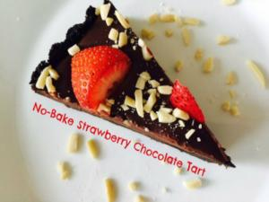 Strawberry Chocolate Tart