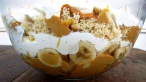 Caramel Banana Trifle Recipe