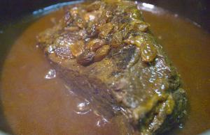 Raisin Pot Roast