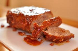 Tomato Sauced Meatloaf