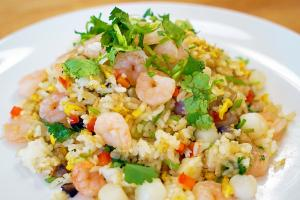 Magical Seafood Fried Rice Recipe 1017695 By Cicisfoodparadise
