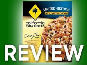 California Pizza Kitchen Spicy Chipotle Chicken Pizza