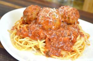 Mozzarella Stuffed Turkey Meatballs Recipe How To Make Marinara Sauce 1016526 By Cookingwithcarolyn