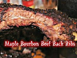 Maple Bourbon Beef Rack