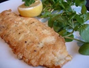 Pan Fried Fish Fillet