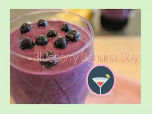 Blueberry Banana Smoothoe