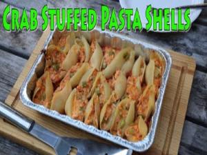 Crab Stuffed Pasta Shells