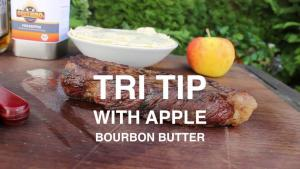 Tri Tip Steak With Apple Bourbon Butter 1017475 By 0815 Bbq