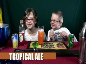 Tropical Ale Mocktail