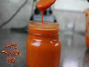 Roasted Garlic Hot Sauce