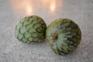 How To Prepare And Eat Cherimoya Aka Custard Apple 1015538 By Cookingwithkimberly